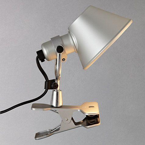 Artemide Tolomeo Micro Clip Task Light Lamp Clip Lamp Table Lamp