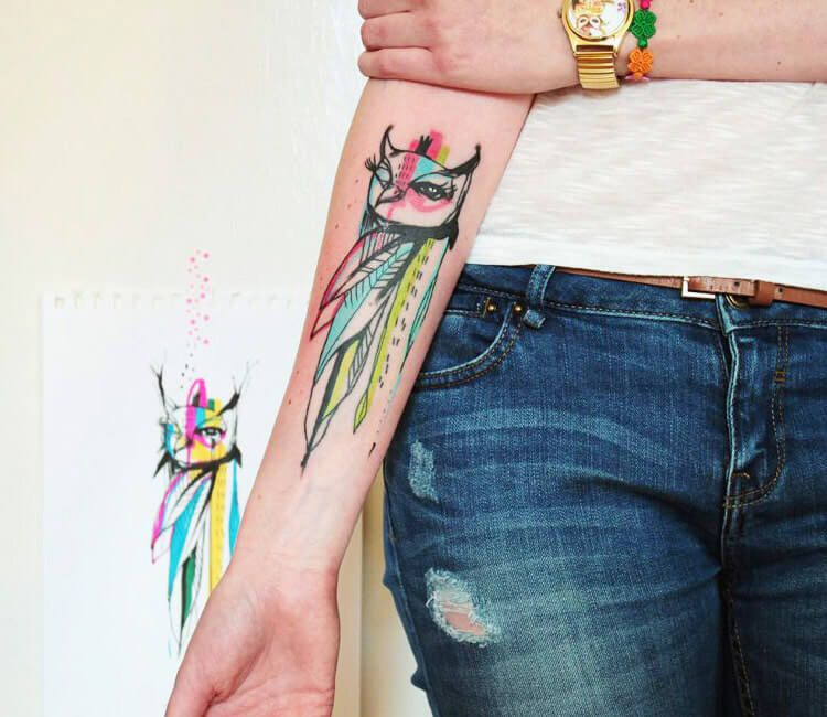 Best 80 Owl Tattoos