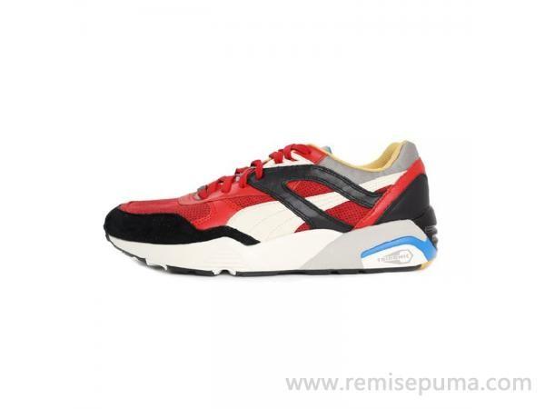 Chaussures Puma Femme Trinomic R698 rouge noir jaune couleur est la plus  classique chaussures.