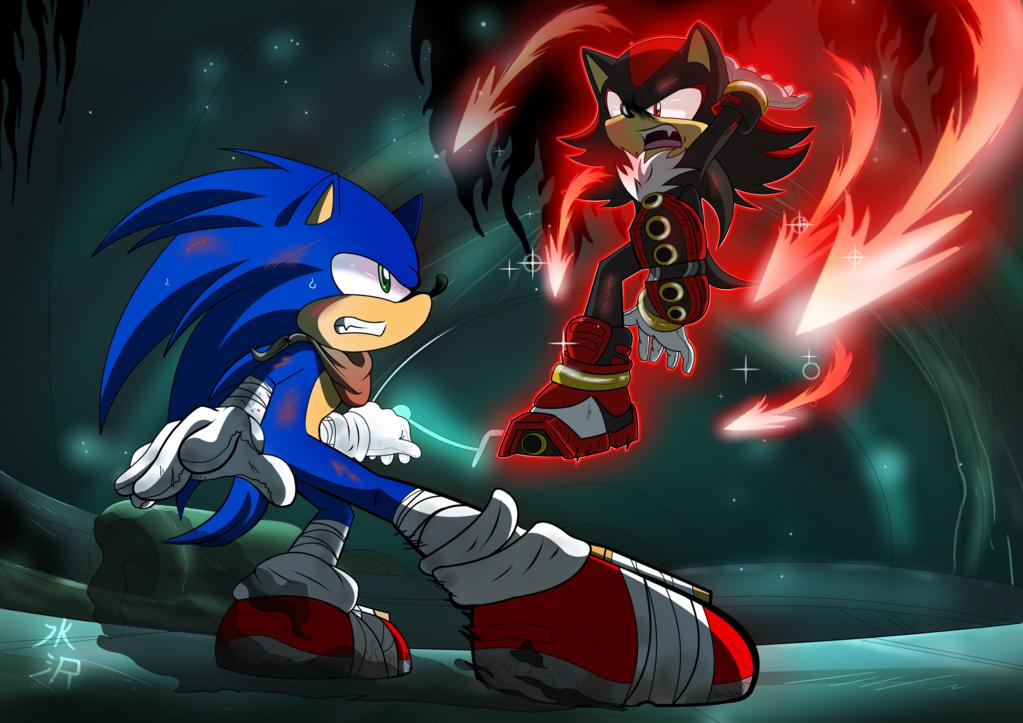 Sonic Boom Hedgehog Battle By Mizusawa Yuki On Deviantart Sonic And Shadow Sonic Sonic Boom