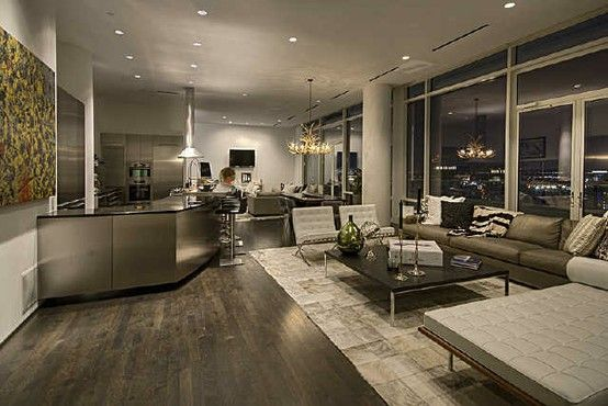 50 Shades of Grey? This house is in Dallas, btw. - Click image to find more Home Decor Pinterest pins
