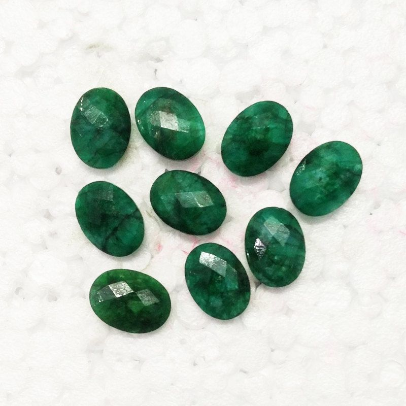 natural aaa mm hgtg indian emerald awesome index il faceted size pear gemstone ct quality