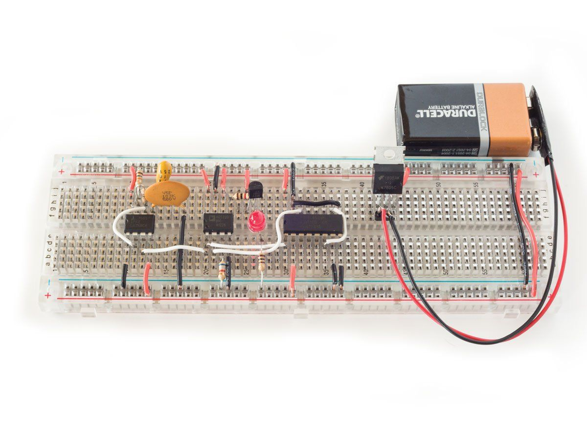 How To Use Digital Potentiometers Control Light And Sound Arduino 433 Mhz Receiver Raspberry Circuit Autos Post Figure E After Removing The Pushbutton Substituting A 74hc4520 Timer Will Run Itself