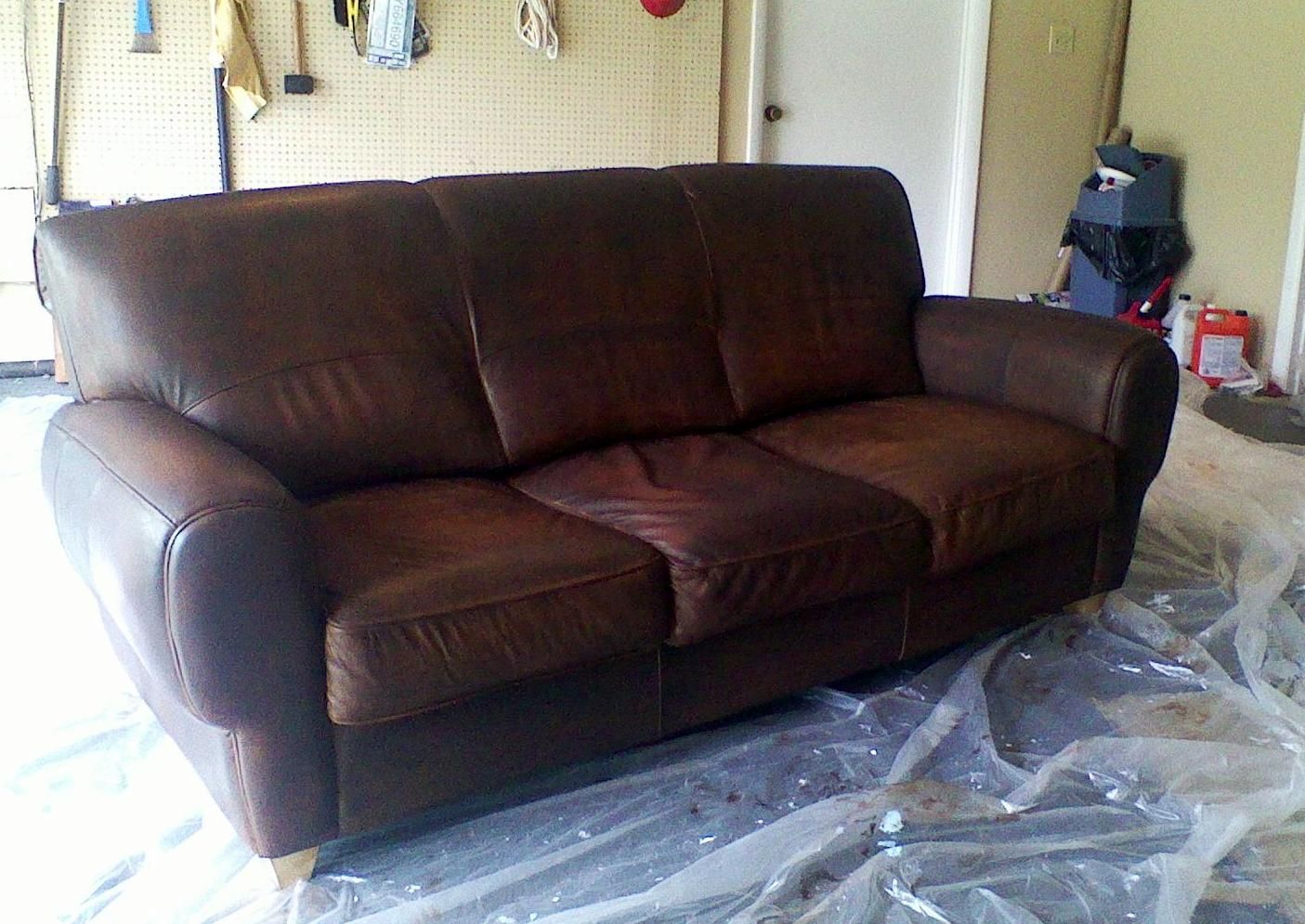 How To Restore A Leather Sofa Milano Corner Weeds Dye Or Stain Furniture
