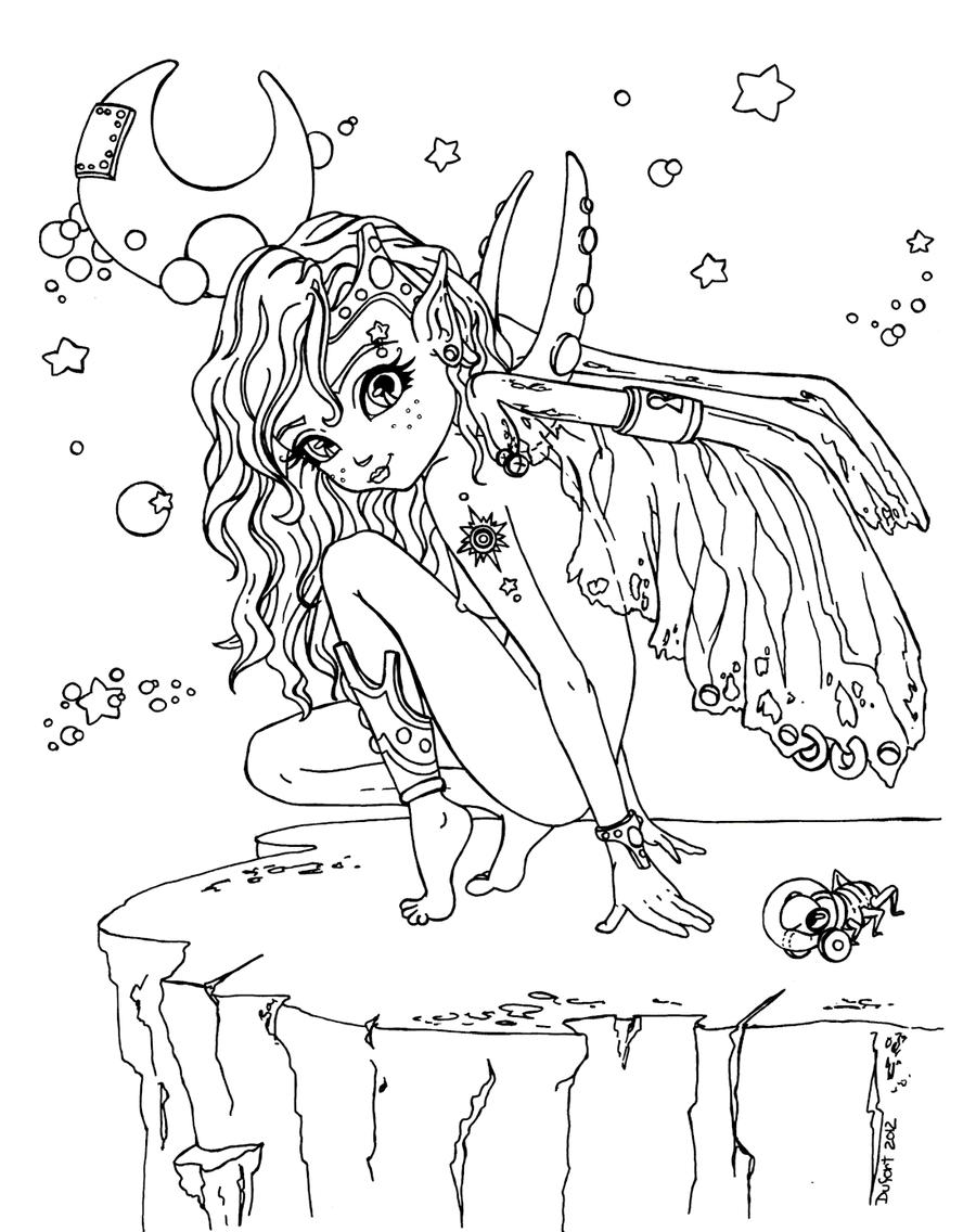 Stellar Elf by JadeDragonne | jade dragone | Pinterest | Jade ...