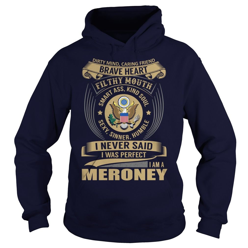 [New tshirt name printing] MERONEY Last Name Surname Tshirt Tshirt-Online Hoodies, Funny Tee Shirts