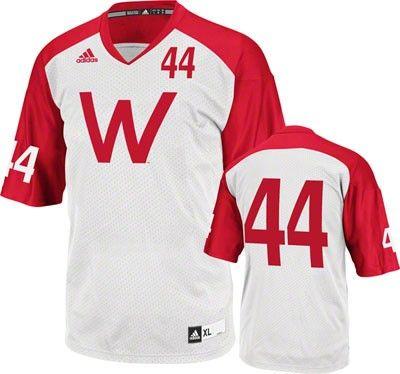 Wisconsin Badgers Football Jersey Adidas Retro Football