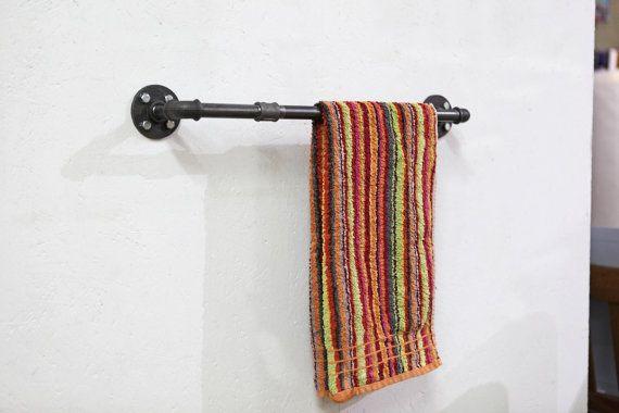 Industriedesign Handtuchhalter Regal Badezimmer Stahl regale und - regale für badezimmer