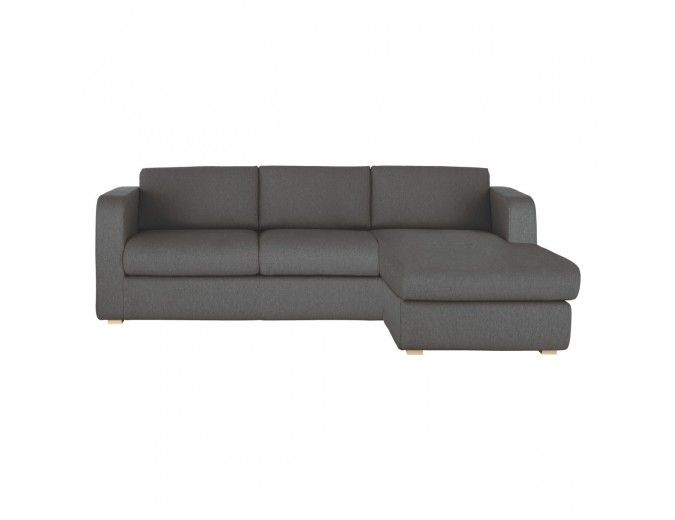 Porto Charcoal Fabric Reversible Chaise Sofa Bed Chaise Sofa Sofa Bed Sofa
