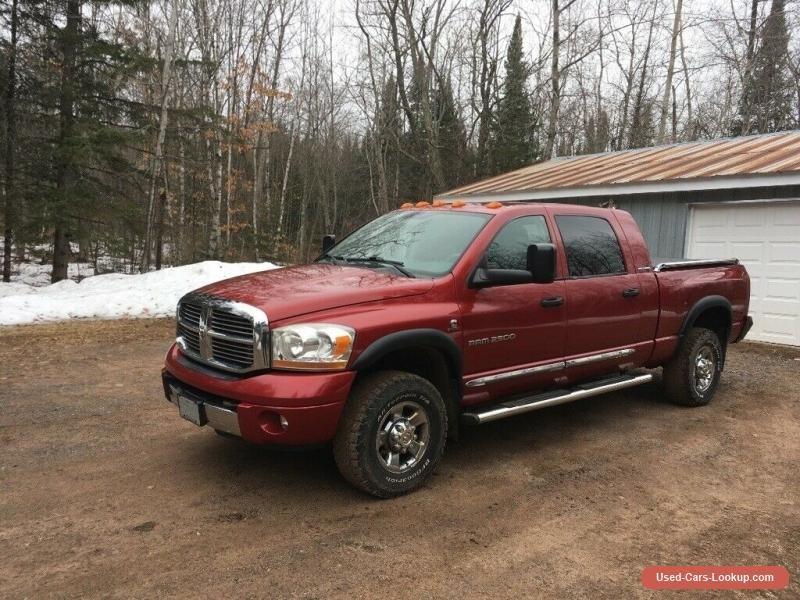 2006 Dodge Ram 2500 Laramie dodge ram2500 forsale usa