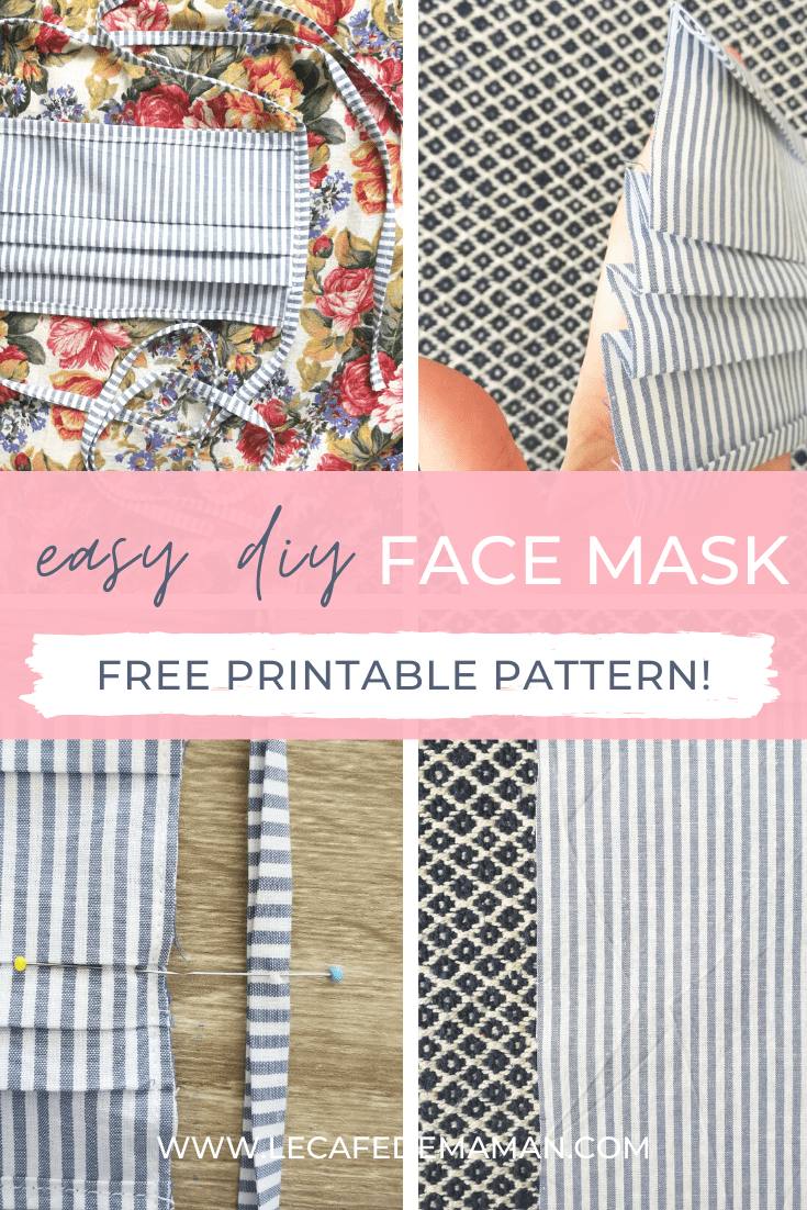 Diy Cotton Face Mask In 2020 Easy Face Mask Diy Sewing For