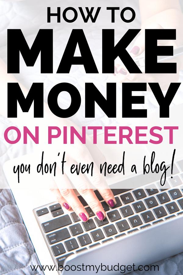 Wie man Geld auf Pinterest verdient (aktualisiert für 2019)   – business