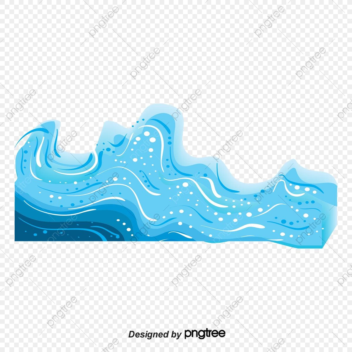 Download This Vector Cartoon Waves Wave Blue Cartoon Transparent Png Or Vector File For Free Pngtree Has Millions Of Free Png Wave Clipart Cartoon Clip Art