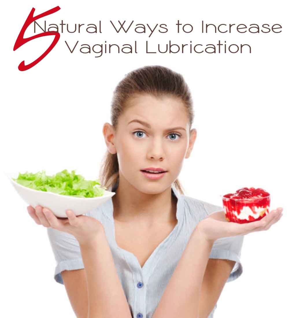 Vagina natural lubrication