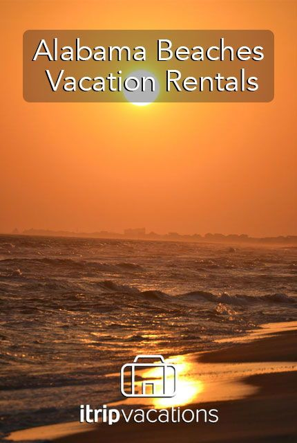 Our Alabama Beach Vacation Rentals Are Located In Gulf