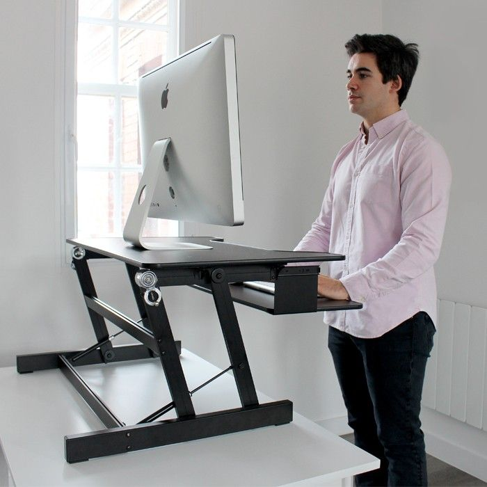 Standing Desk Posture Zone Back Pain Help Home Office