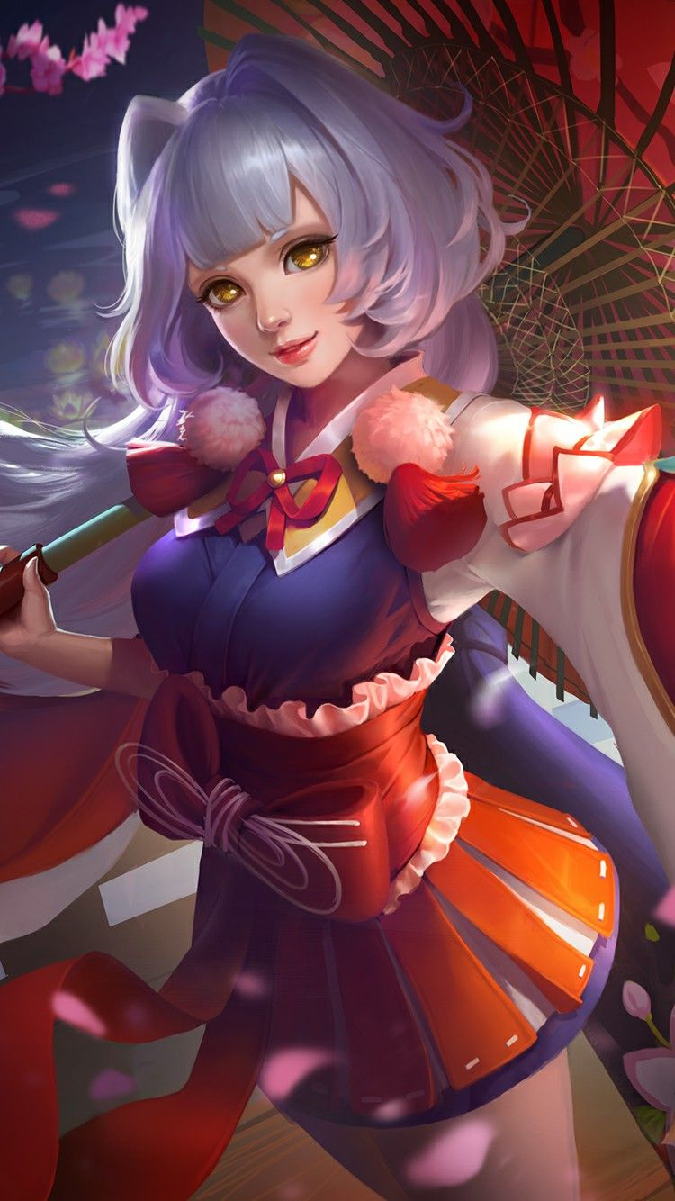 Cherry Witch Chun Li Bang Bang Anime Girls Mobile Legend Wallpaper The