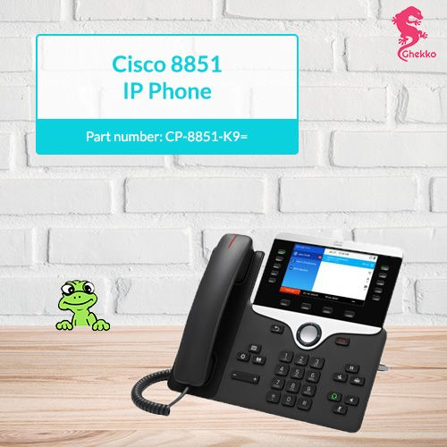 CISCO 8851 IP PHONE | Part Number: CP-8851-K9= | Please