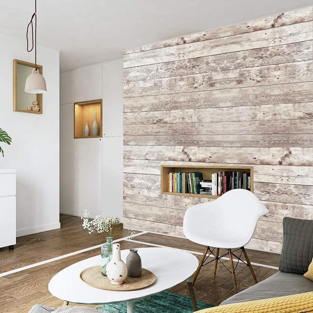 Wallpaper Stick And Peel Wood