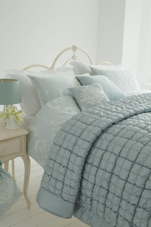 Laura Ashley Josette Duck Egg Interiors Blue Bedroom Decor