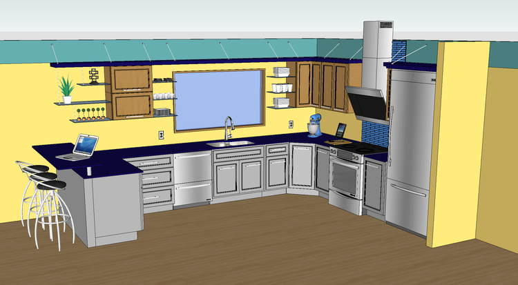 Kitchen Design Sketchup Plugin