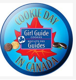 Girl Guide Cookie Day in Canada