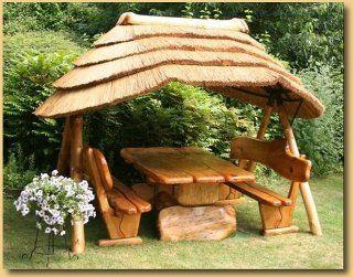 Thatch Roof Gazebo Gazebo Thatched Roof Garden Furniture