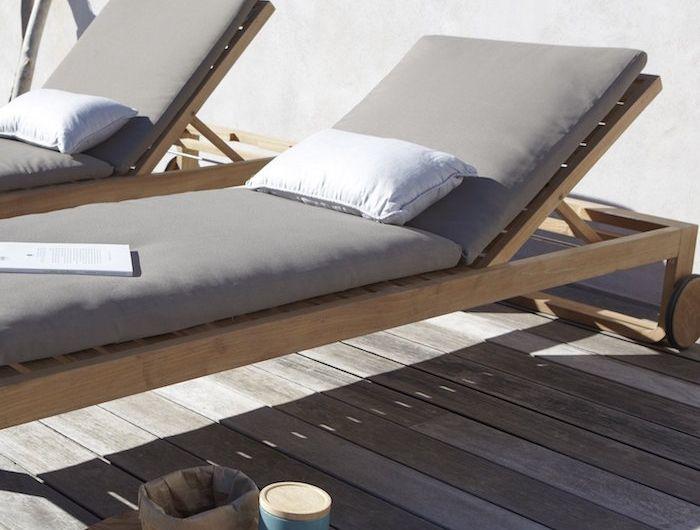 Transat Jardin 43 Idees Pour Un Bain De Soleil Ca Vous Dit En 2020 Transat Jardin Bain De Soleil Equipement De Piscine