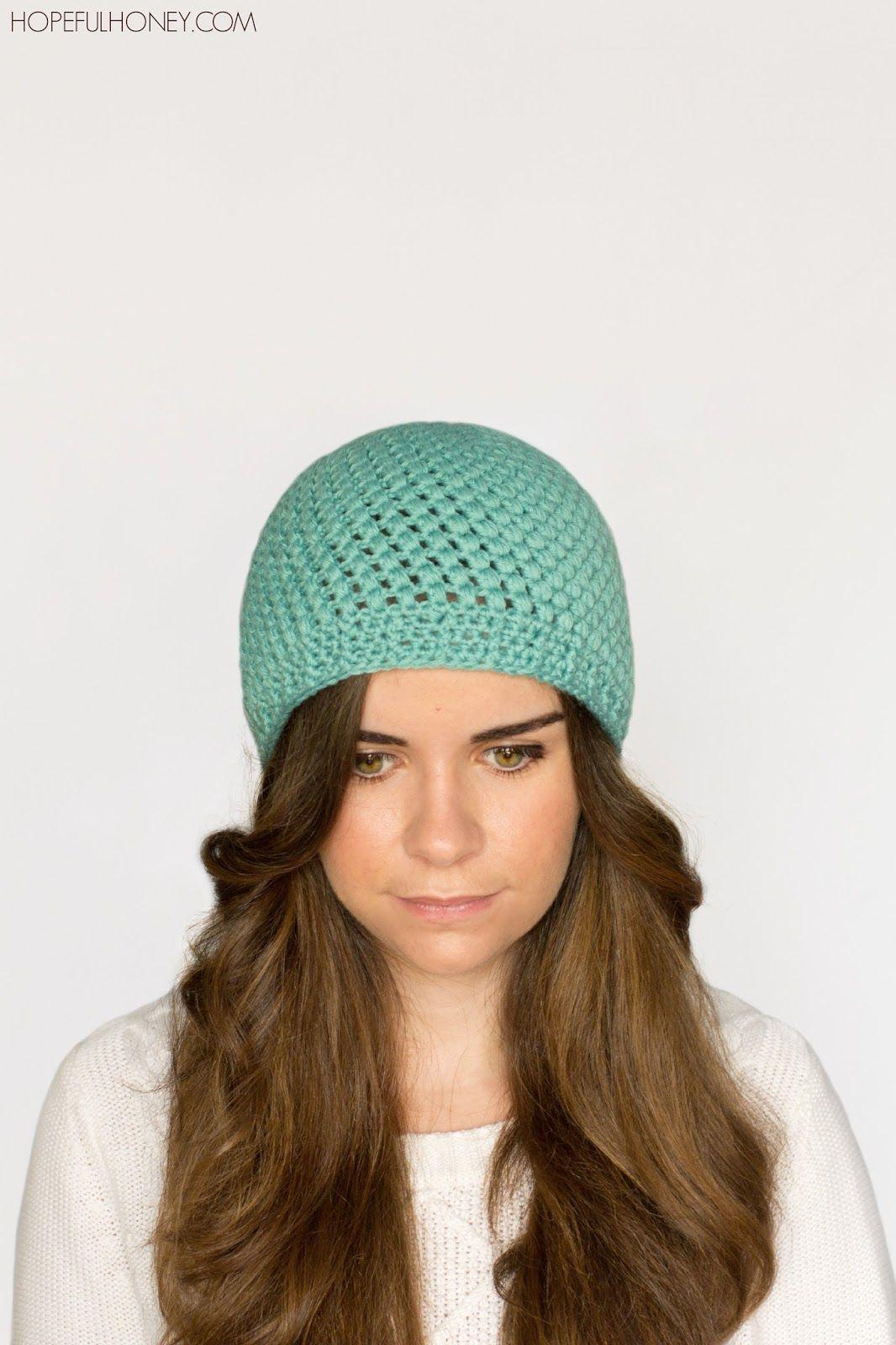 Atractivo Patrones De Crochet Sombrero De Quimioterapia Friso ...