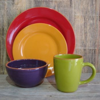 Bobby Flay at Kohl\u0027s - Shop our colorful selection of dinnerware including this Bobby Flay Lisboa Dinnerware Set at Kohl\u0027s. & Love these dishes! (Bobby Flay Plancha 16-pc. Dinnerware Set ...