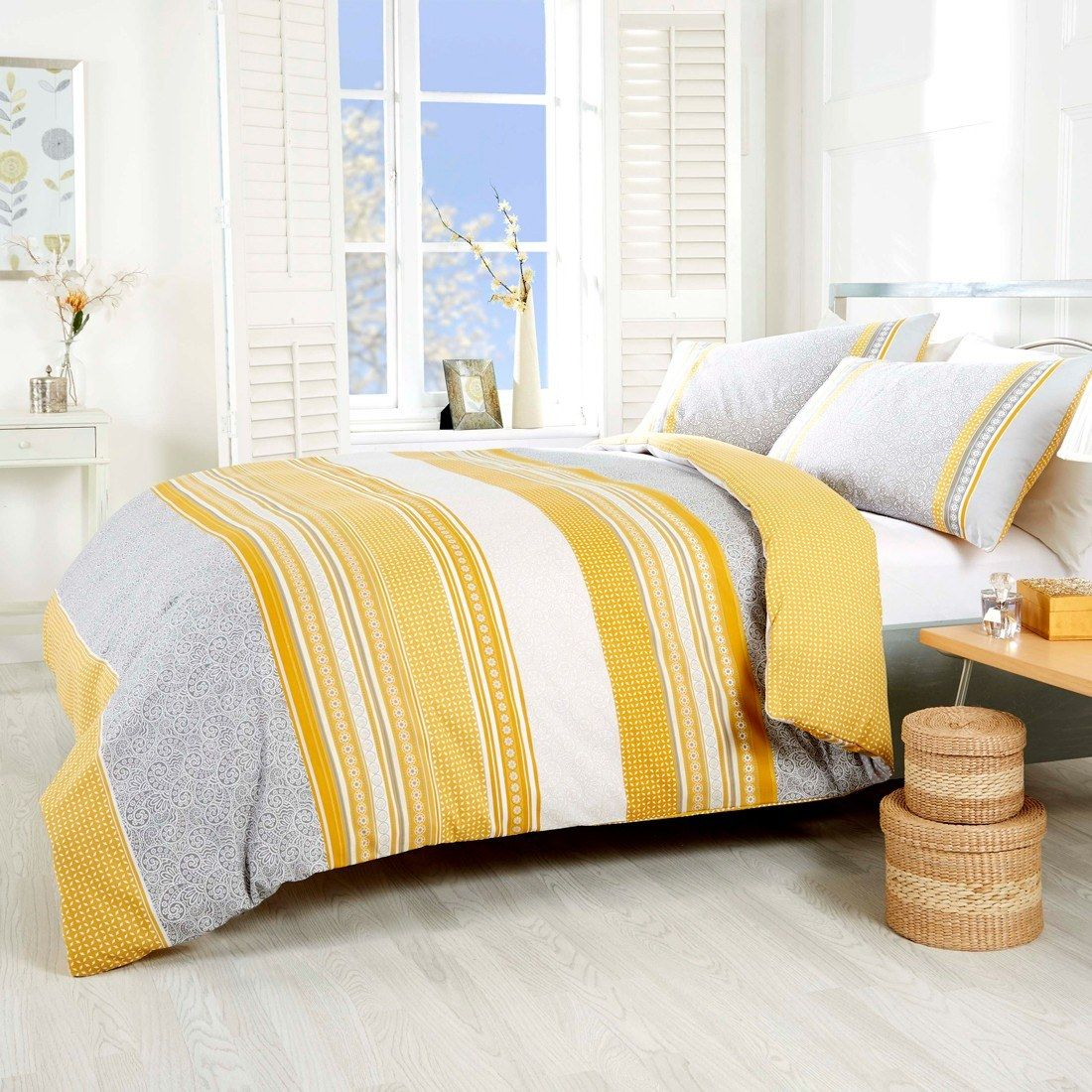 Fusion Betley Classic Wide Stripes Duvet Cover Bedding Set