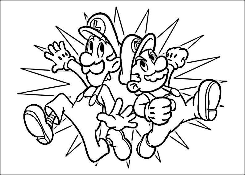 Dibujos para Colorear Mario Bross 22 | Z) Coloring - All Licensed ...