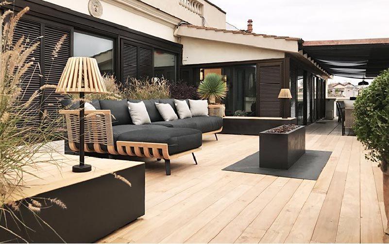Una terrazza romana | Outdoor spaces