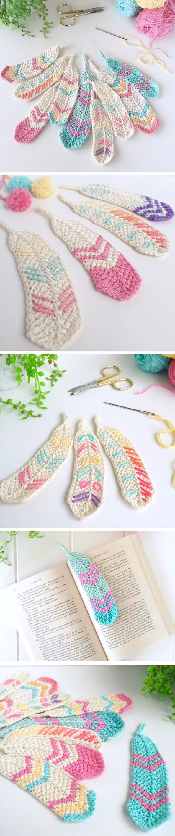 Crochet Feathers Pattern Free Tutorial All The Best Ideas | Stuff I ...