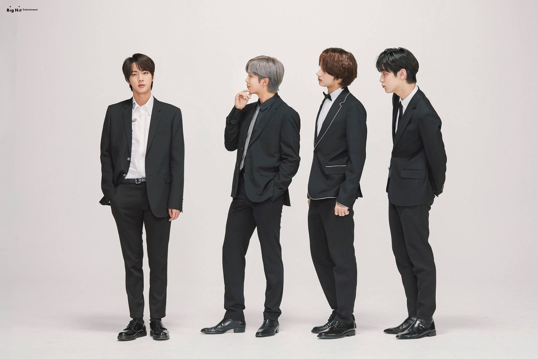 Bighit 15th Anniversary Bts Txt Lee Hyun Group Photos Hd Hr Entertainment Gambar Orang Bts