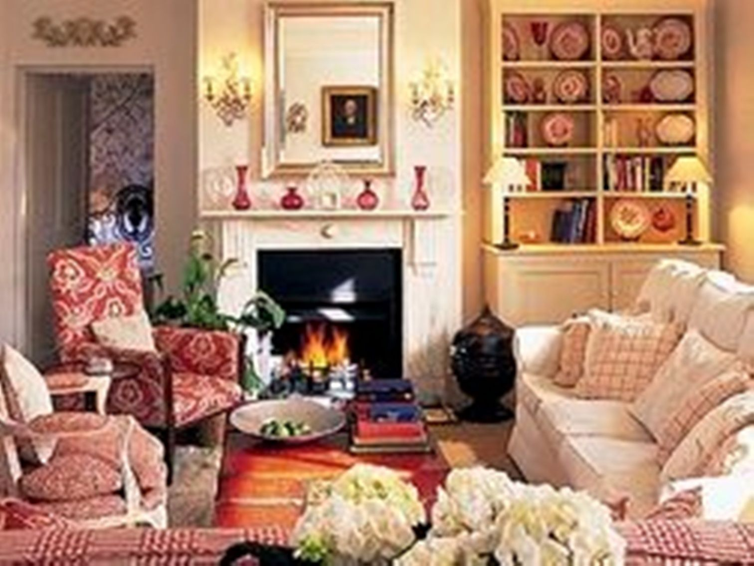English Country Living Room Home Decor Pinterest Salon Maison