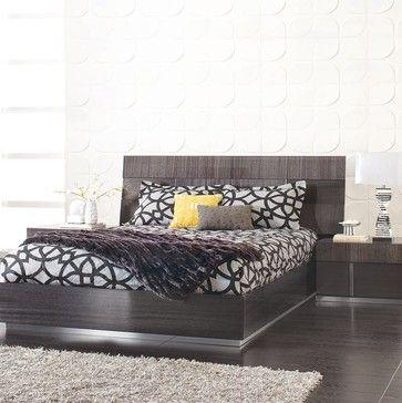 Best Mondiana Queen Bed Modern Bedroom Other Metro By 640 x 480