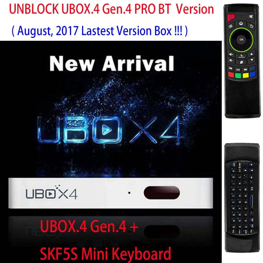 Ubox Gen 4 Channels
