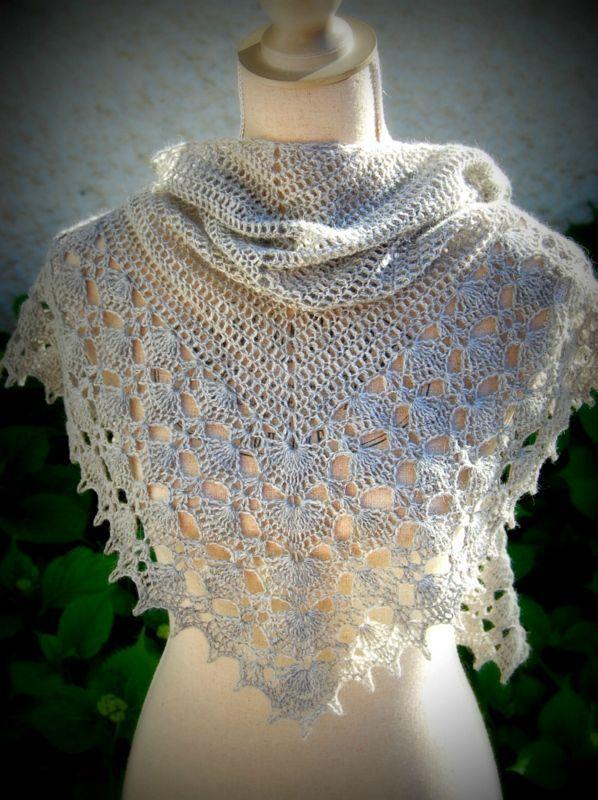 Brise d\'été d\'Hélène Marcy | Crochet | Pinterest | Tücher ...
