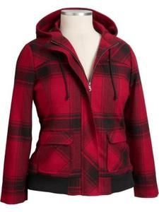 Collection Red Plaid Jacket Womens Pictures - Reikian