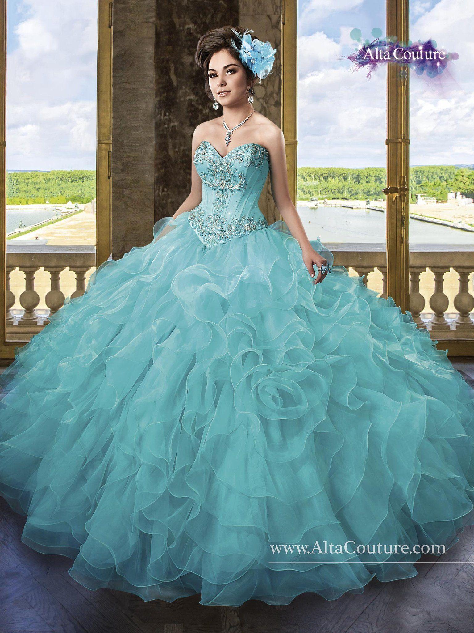 f4667b53325 Alta Couture Quinceanera Dresses