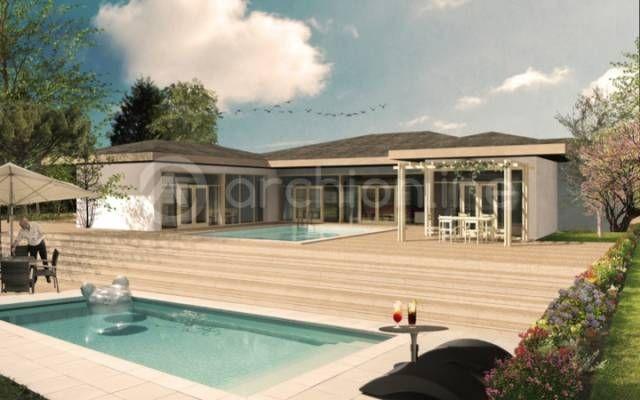 Archionline vous propose une maison originale plain pied de 173,84 - Plan De Maison Originale