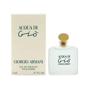 Acqua Di Gio by Giorgio Armani 0.17 / .17 oz / 5ml EDT Splash