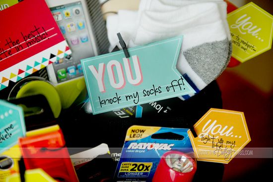 all about you basket great fathers day gift