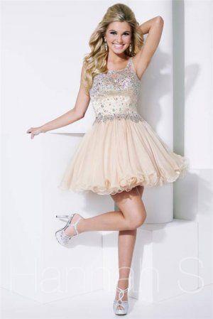 Short Champagne Prom Dresses - Ocodea.com