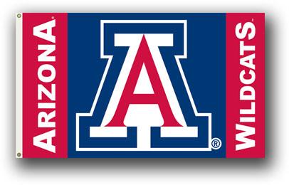 NCAA Arizona Wildcats 3 Ft. X 5 Ft. Flag W/Grommets