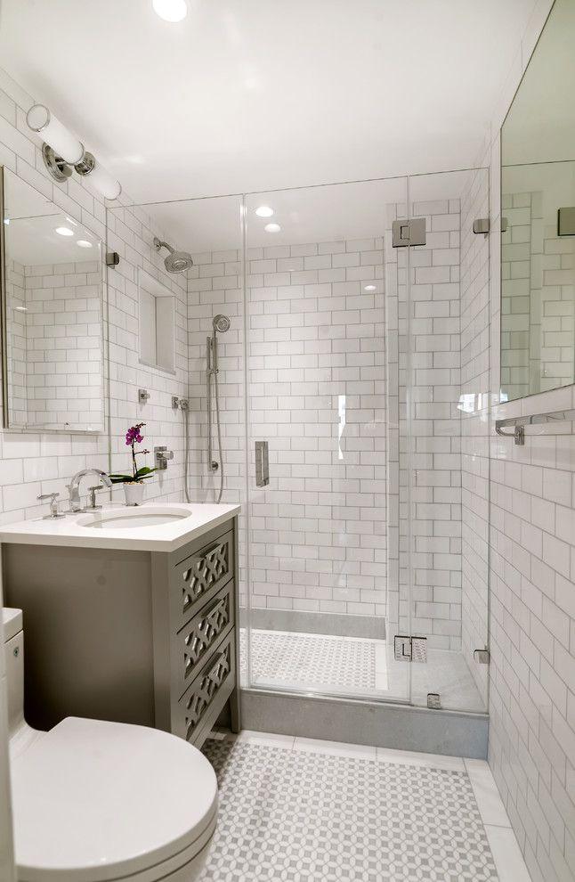 Compact Transitional Bathroom Bathroom Remodel Cost Bathrooms Remodel Bathroom Design Small