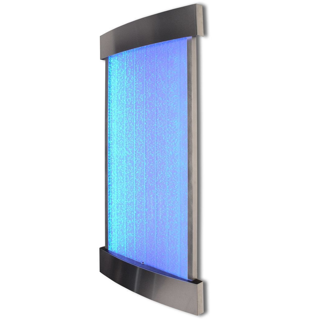 Wall Mount Led Bubble Panel Indoor Fountain Water Feature 45