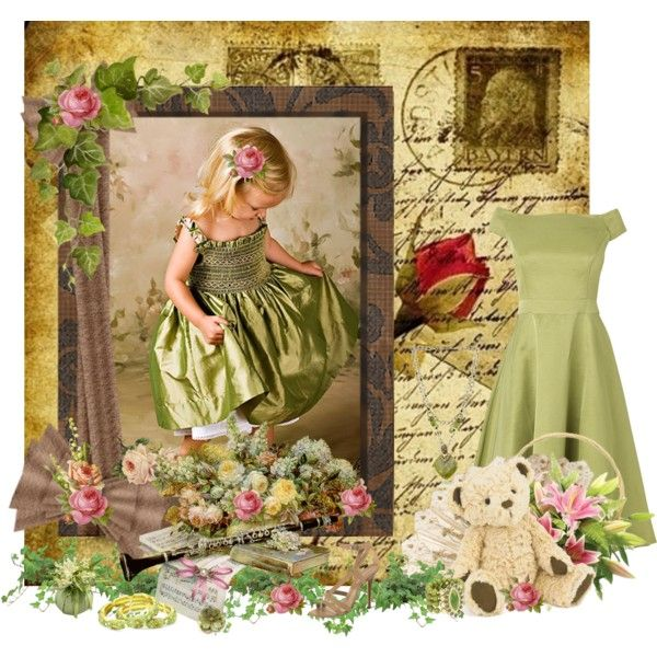 """""""Olive Green Sheen"""" by countrycousin on Polyvore"""