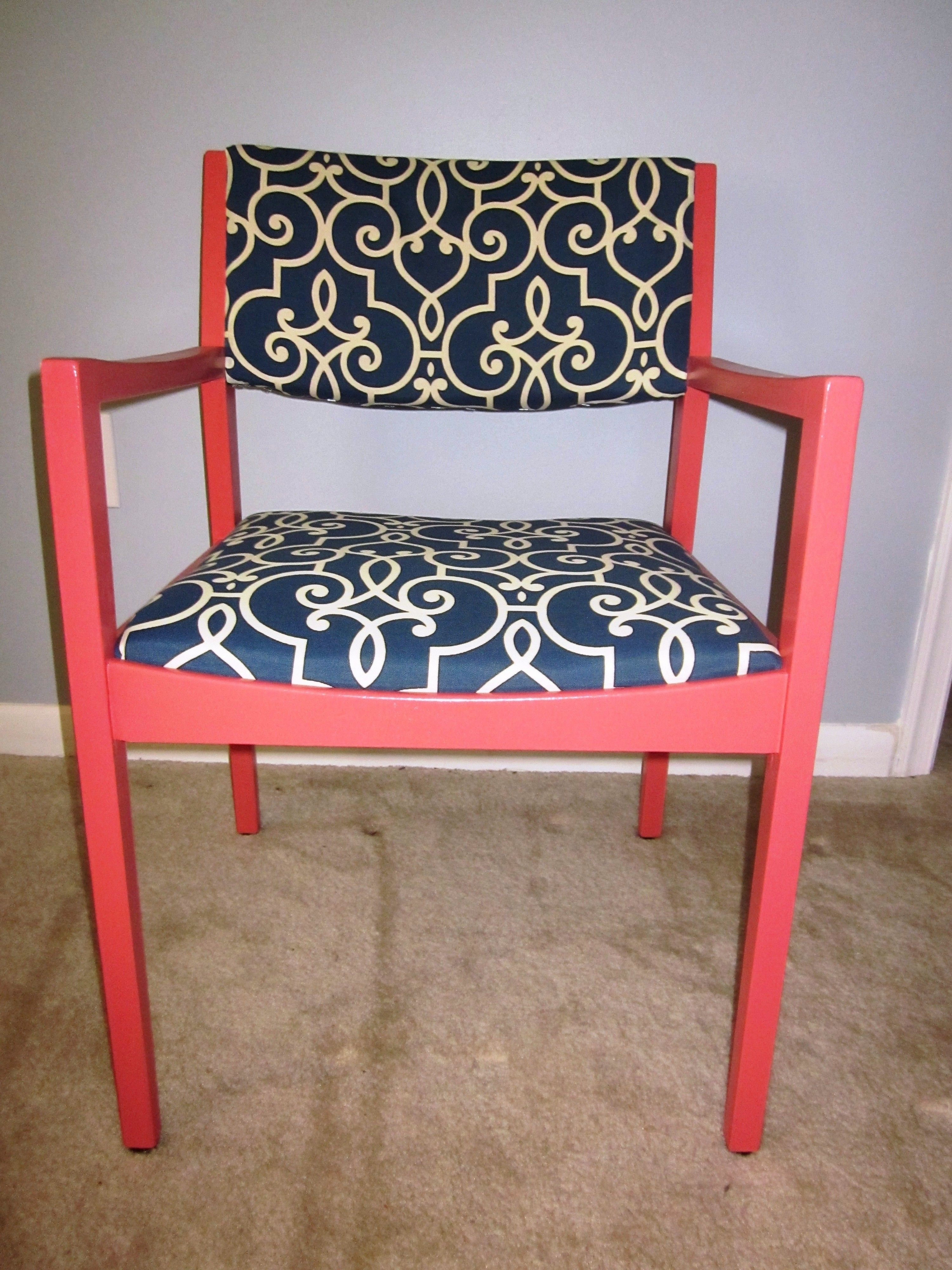 Unique refurbished chair perfect for office or living - Refurbished living room furniture ...